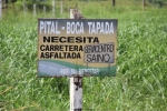 Asphaltstraße nach Boca Tapada? Ja, bitte.