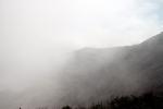Krater im Nebel