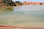 Schwimmen in der Wüste